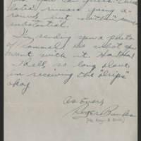 1945-05-22 Pfc. Roger Banks to Dave Elder Page 2