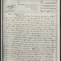 1945-01-28 John W. Graham to Mr. & Mrs. W.J. Graham Page 1