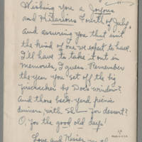 Card from Pearl Hyde to Jack Hyde Page 5