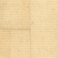 Ann Larimer letters to husband John, February-July 1865
