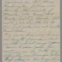 1946-02-18 Sgt. Bill Arnold to Dave Elder Page 2