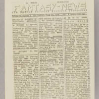 Fantasy News, v. 1, issue 5, July 24, 1938