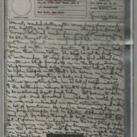 1943-06-24 Laura Davis to Lloyd Davis Page 1