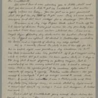 1946-01-29 Robert L. Brewer to Dave Elder Page 1