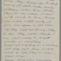 Laura Hutchison Davis letters from her husband, 1943
