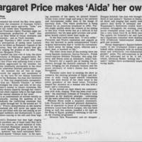 "1981-11-14 c""""Margaret Price makes 'Aida' her own"""""