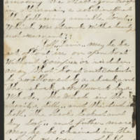 Unidentified Correspondence