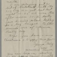 1945-12-08 Pfc. Tom Tanner to Dave Elder Page 2