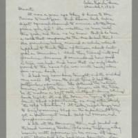 1943-12-01 Laura Davis to Lloyd Davis Page 1