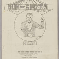 Sun Spots, v. 3, issue 3, whole no. 11, October 5, 1940