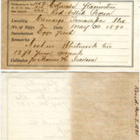 Thomas H Jackson, egg card # thj001u