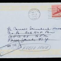1946-03-02 Evelyn Burton to Carroll Steinbeck - Envelope