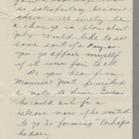 1943-03-07 Bess Hutchison to Laura Frances Davis Page 2