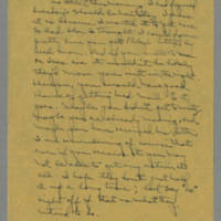 1943-01-15 Laura Davis to Lloyd Davis Page 1