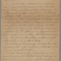 1945-10-20 Pfc. Bill Arnold to Dave Elder Page 1