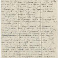 1945-02-17 Maj. Eddie Anderson to Earl Hall Page 1