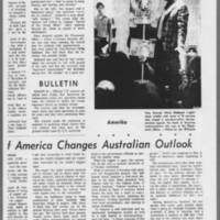"1971-02-12 Daily Iowan Article: """"Protesters Raid ROTC; One Arrest"""" Page 4"