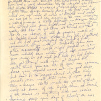 Nile Kinnick correspondence, December 1942-March 1943