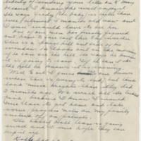1945-02-17 Maj. Eddie Anderson to Earl Hall Page 2