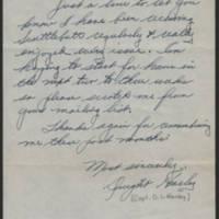 1945-11-03 Capt. Dwight L. Harley to Dave Elder