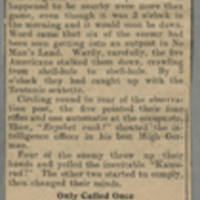 """Clipping: """"""""Service Of The Rear"""""""" Page 2"""