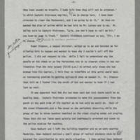 "1970-05-07 """"A Description of Events Which Occurred on or About The Pentacrest Area on May 7 and 8, 1970"""" Page 7"