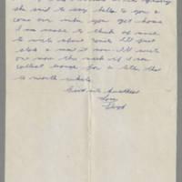 1942-02-03 Lloyd Davis to Laura Davis Page 2