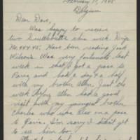 1945-02-17 Marsh Atkinson to Dave Elder Page 1