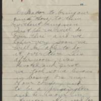 1918-03-06 Thomas Messenger to Vera Wade Page 5