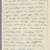 1942-08-28 Lloyd Davis to Laura Davis Page 2