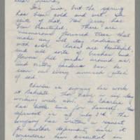 1943-06-10 Bessie Rector to Laura Frances Davis Page 1