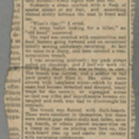 """1918-06-08 Clipping: """"""""To The Trenches"""""""" Page 1"""
