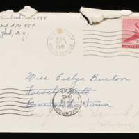 1945-09-04 Carroll Steinbeck to Evelyn Burton - Envelope