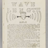 Wavelength, v. 1, issue 4, January-March 1942