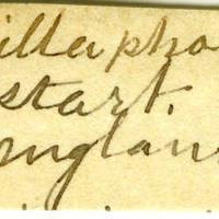 Clinton Mellen Jones, egg card # 675