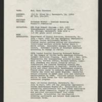 Mary Terronez Resume Page 1