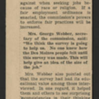 "1951-09-09 Des Moines Sunday Register Article: ""Poll"""