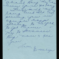 1945-11-05 Evelyn Burton to Vera Steinbeck Page 3
