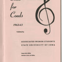 Code for Coeds 1962-63