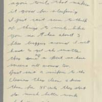 1942-08-26 Lloyd Davis to Laura Davis Page 2