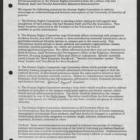 1993-02-19 Memorandum: Dorothy Persson to Officers of Academic Governance Senates/Councils, Advocacy Groups and Recognized Student Organizations Page 2