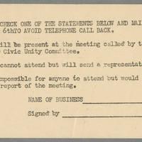 Postcard addressed to Mrs. R.G. Henson