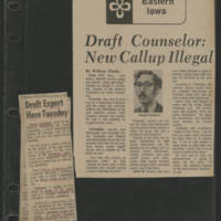1971-10-13 Times-Democrat Article: 'Draft Counselor: New Callup Illegal'
