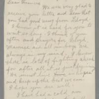 1943-06-17 Laura Hutchison to Laura Frances Davis Page 1