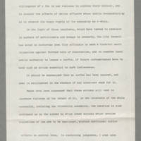 1970-05-05 Statement to Mayor Loren Hickerson