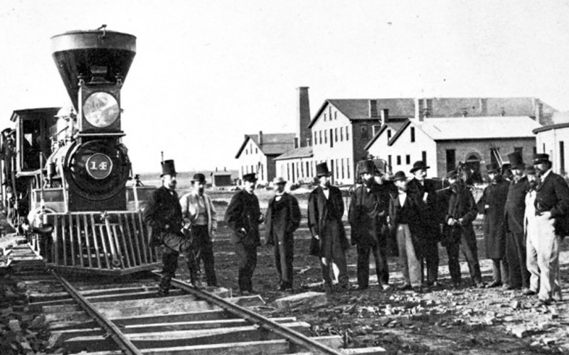 Image result for building a railroad