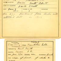Thomas Wilmer Dewing, egg card # 049