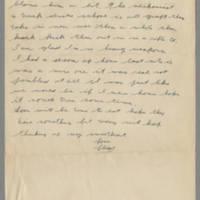 1942-11-09 Lloyd Davis to Laura Davis Page 2