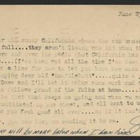 1944-06-23 Postcard