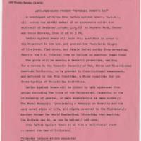 "1981-07-22 ""Anti-Feminists Protest 'Berkeley Women's Day'"""